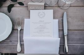 Wedding menu for Hotel Caruso wedding