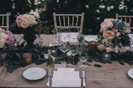 Romantic reception for Ravello wedding