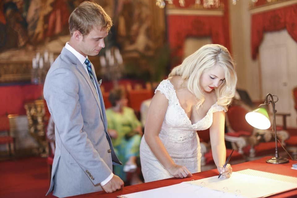 Civil Wedding in Florence