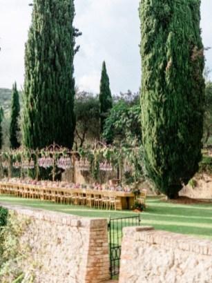Gardens of Villa Cetinale in Tuscany
