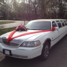 12 személyes esküvői limuzin