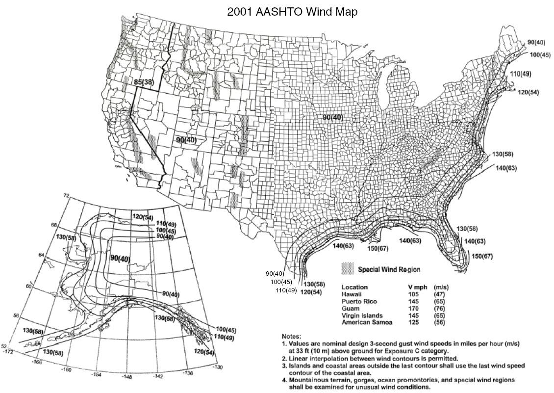 Wind Zone Information