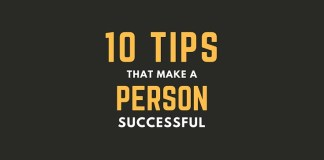 Tips That Make a Person Successful