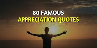 Famous Appreciation Quotes