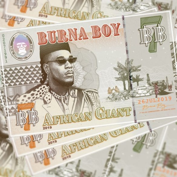 burna boy african Giant album zip download