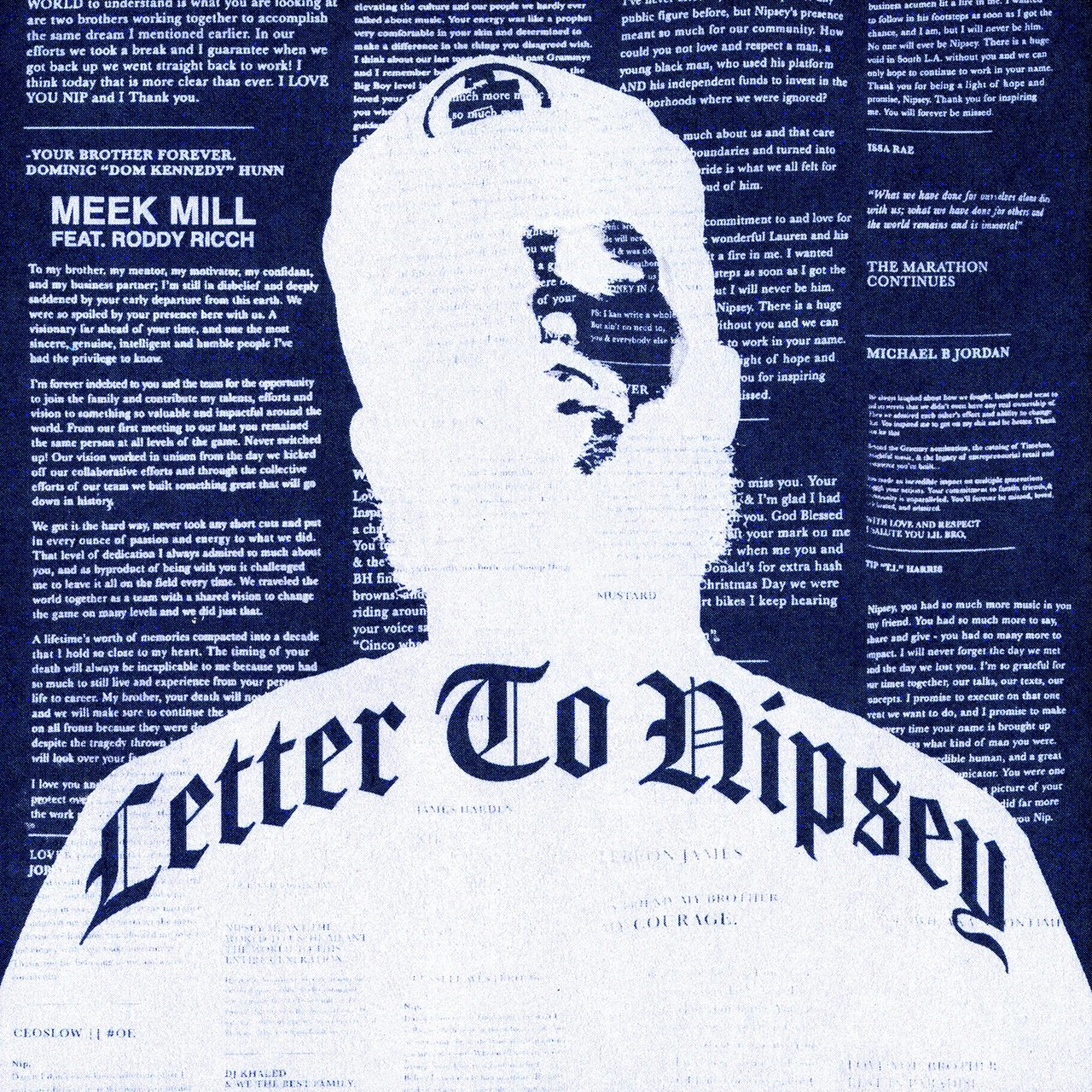 Meek Mill – Letter To Nipsey ft. Roddy Ricch download
