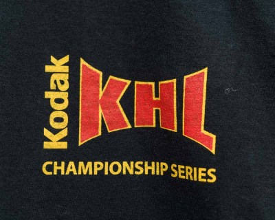 LS T-SHIRT – FRUIT OF THE LOOM – KODAK KHL NOIR – Size L
