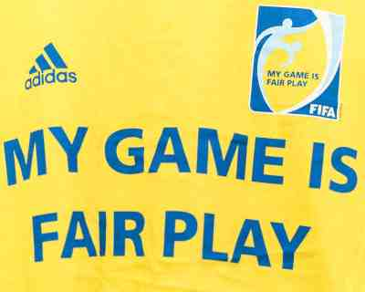 T-SHIRT – ADIDAS – FIFA FAIR PLAY – Size XL