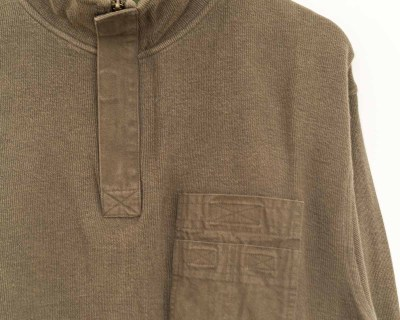 PULLOVER – TIMBERLAND – COL MONTANT ZIP POCHES – Size XL