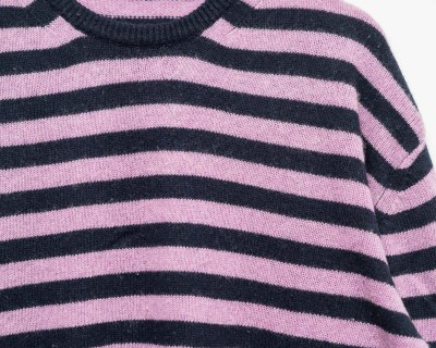 PULLOVER – GMM – TRICOT STRIPED – Size XL