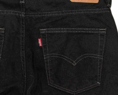 PANTS – LEVI'S – 550 BLACK RELAXED FIT – Size S