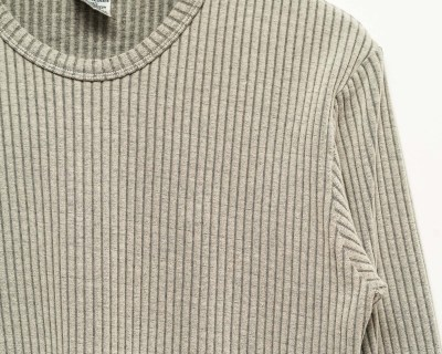 PULLOVER – IKEDA – BASIC RIBBED – Size S