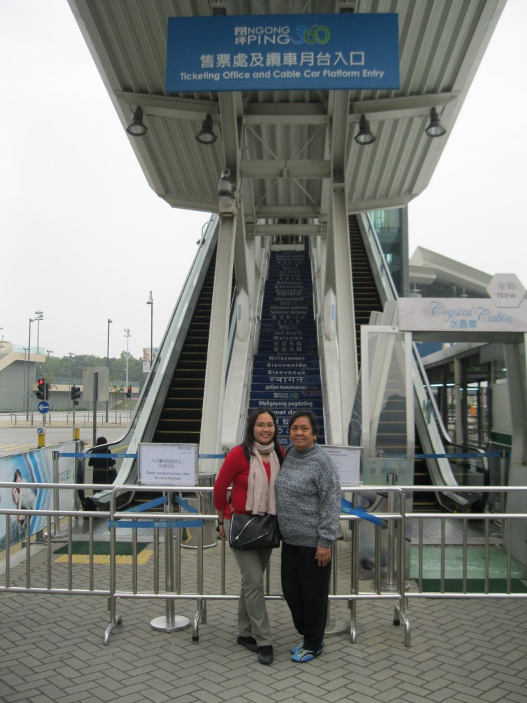 ngong ping cable station