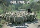 Greek Traffic Jam