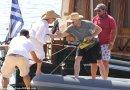 Hugh Jackman in Antiparos, Greece [Pictures]