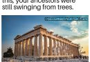 When Greeks Were Building This…