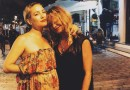 [Photos] Kate Hudson, Goldie Hawn and Kurt Russell in Greece