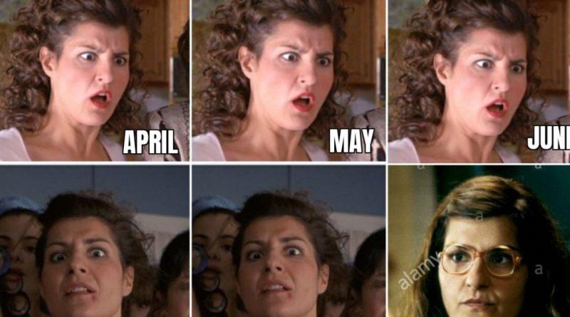 Months of 2020 by Greek Celebs