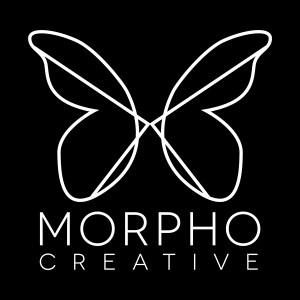Morpho Logo White