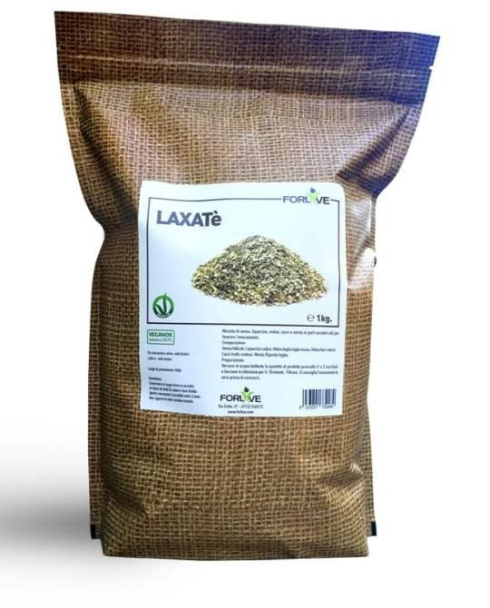 Laxatè è una miscela di erbe selezionate ad azione lassativa, contiene senna, liquerizia, malva, carvi e menta utili per favorire l'evacuazione.