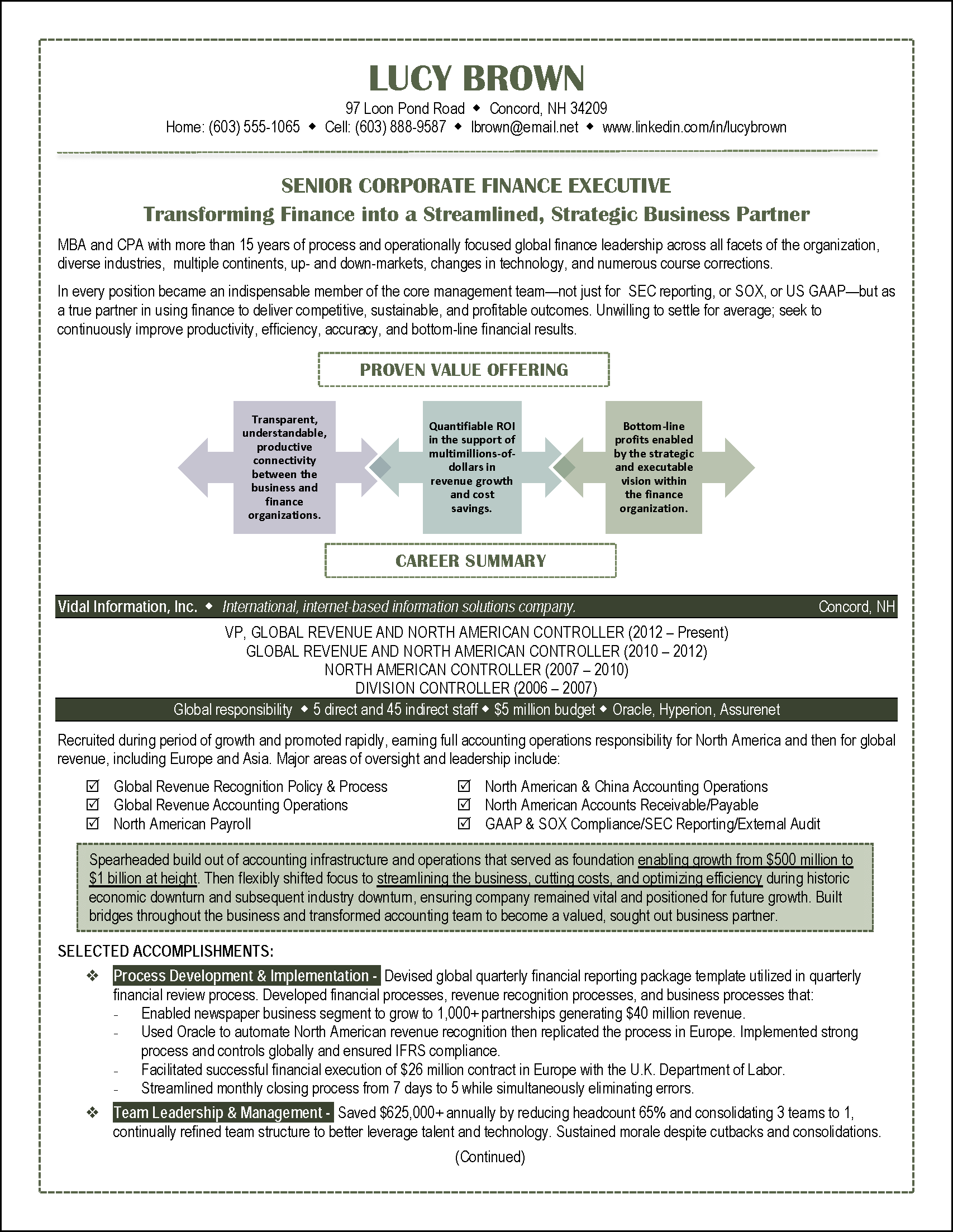 resume accounting finance page 1 png