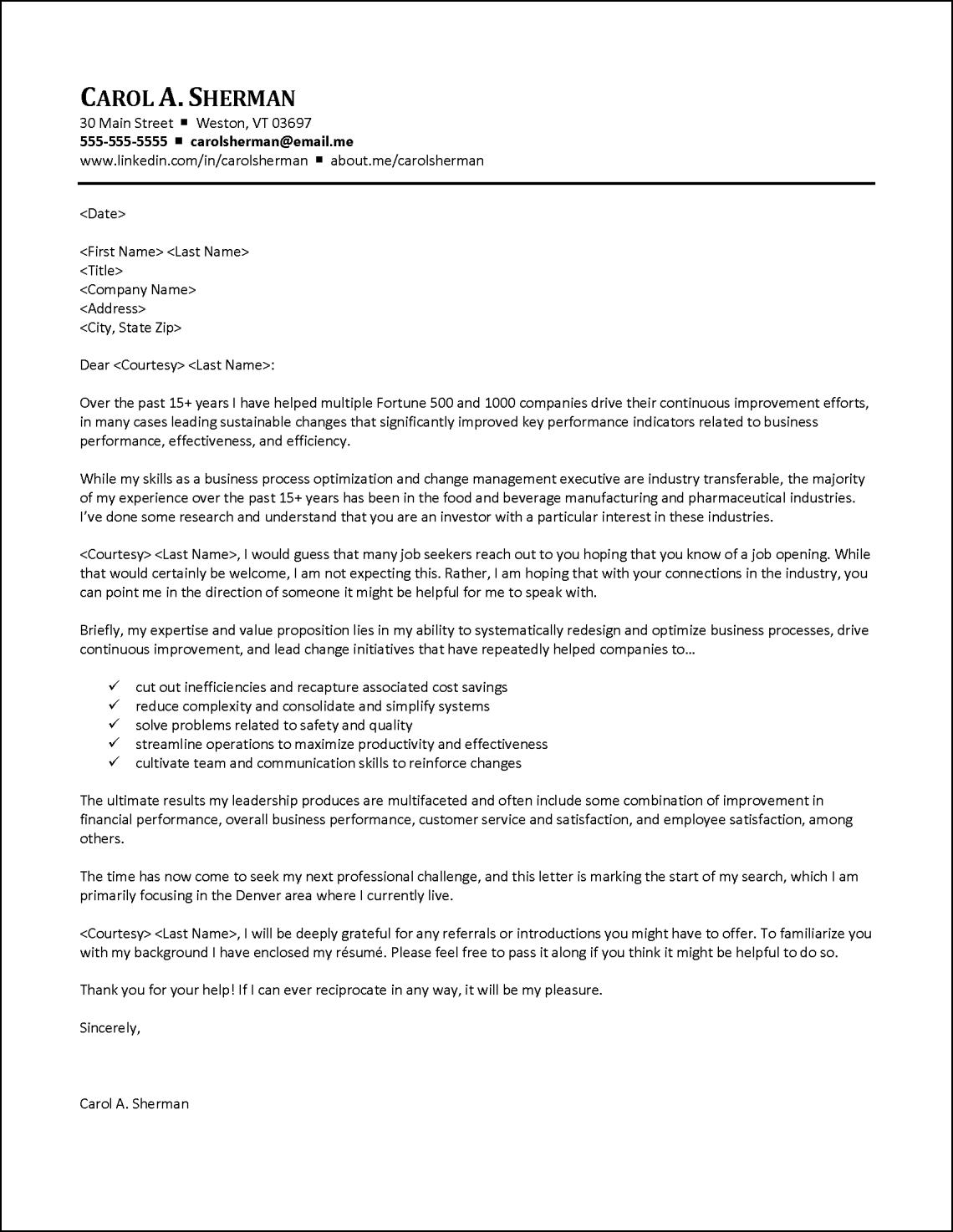 job portfolio sample