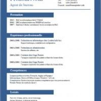 Exemples et modèles de CV gratuits #65 à 72