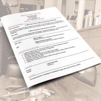 Exemple de CV de Coiffeur ou Coiffeuse