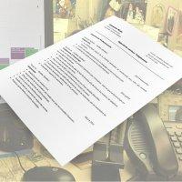 Curriculum Vitae d'une ou d'un Téléphoniste