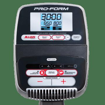 proform 320 cx exercise bike console