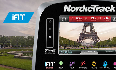 nordictrack commercial vr25 elite recumbent with ifit