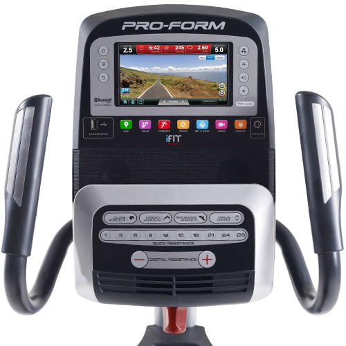 proform 740 ES recumbent bike console