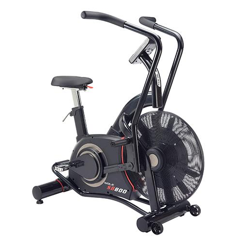 schwinn airdyne vs Sole SB800 Air Bike Review