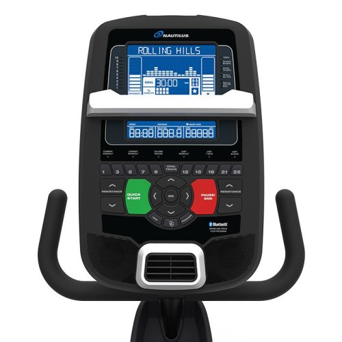nautilus 618 recumbent bike review