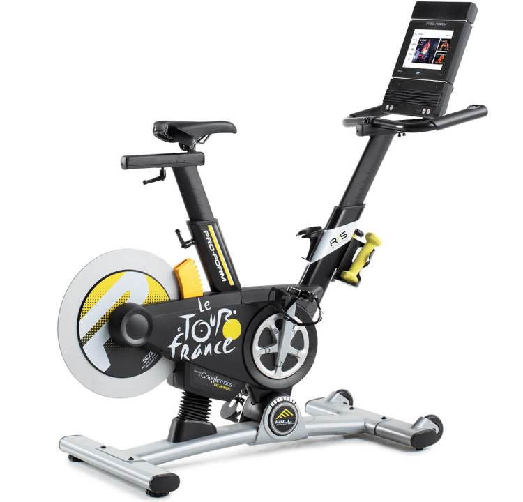 proform bike with screen