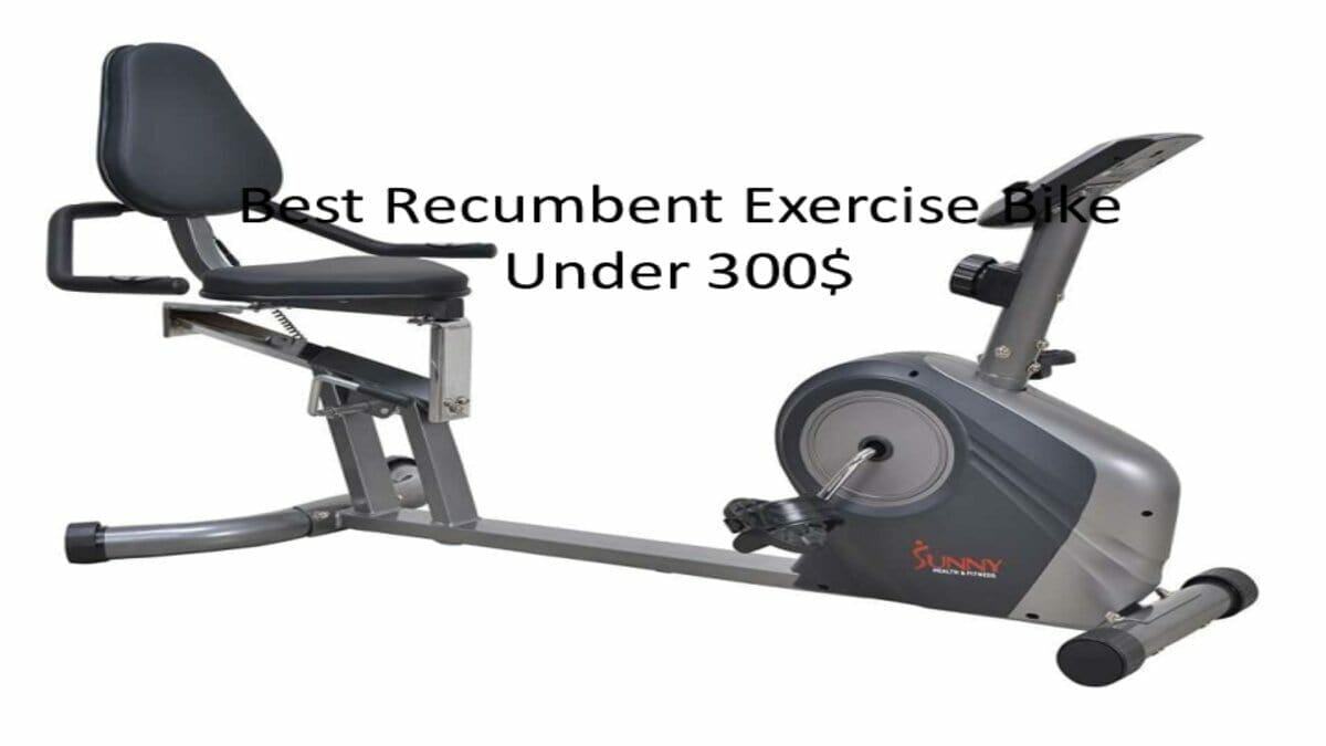 Best Recumbent Exercise Bike Under 300$