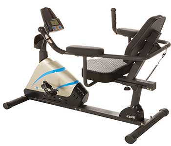 Exerpeutic-2000-High-Capacity-Programmable-Magnetic-Recumbent-Bike-with-Air-Soft-Seat-and-Heart-Pulse-Sensors