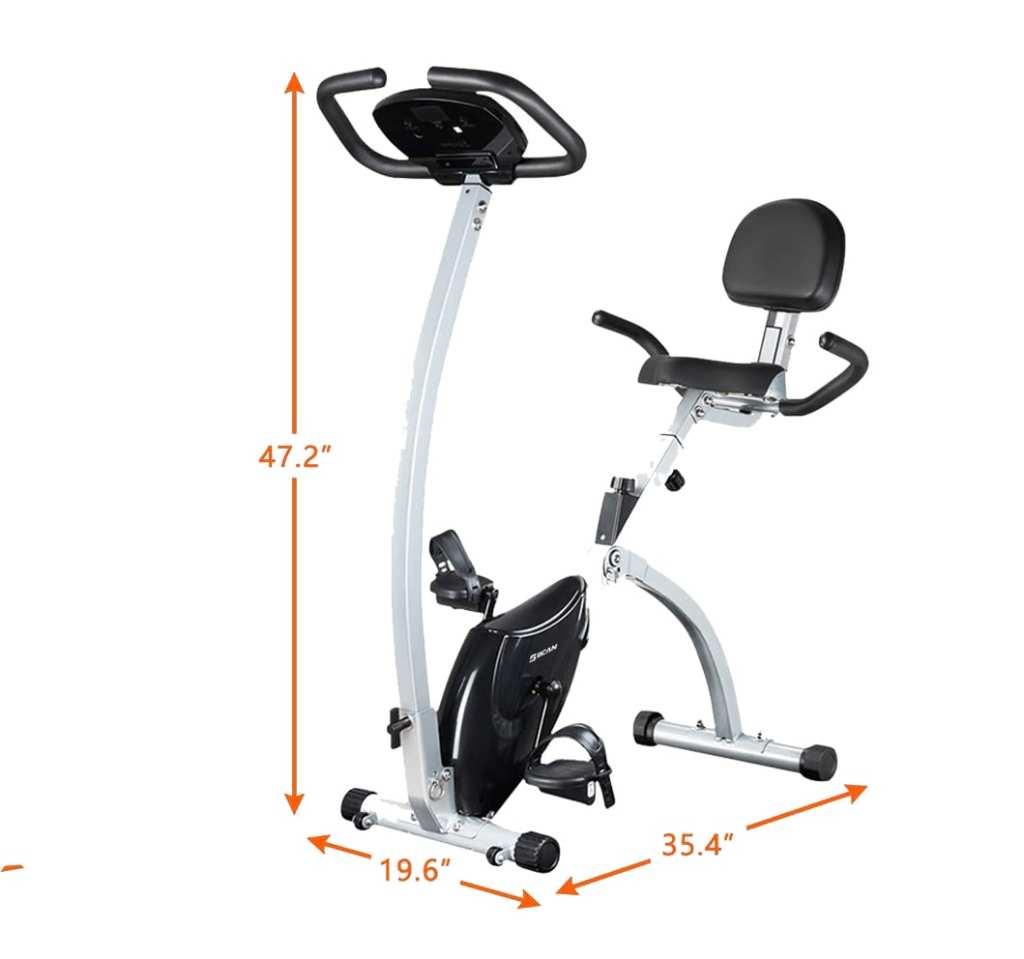 Bcan folding exercise bike 2019 version