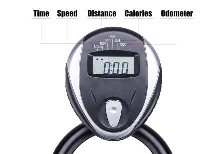 Pinty indoor exercise bike console