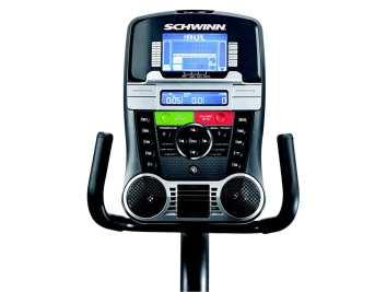 Schwinn 270 recumbent bike console