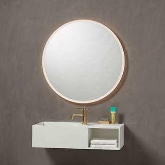 MultiWhite® Rundt speil