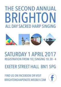 Brighton All Day Sacred Harp Singing