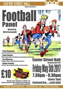 Football Panel @ Exeter Street Hall
