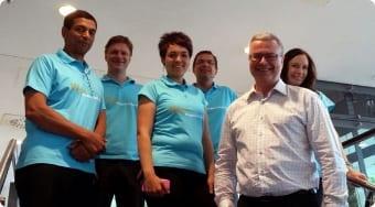 The Prague bid team.