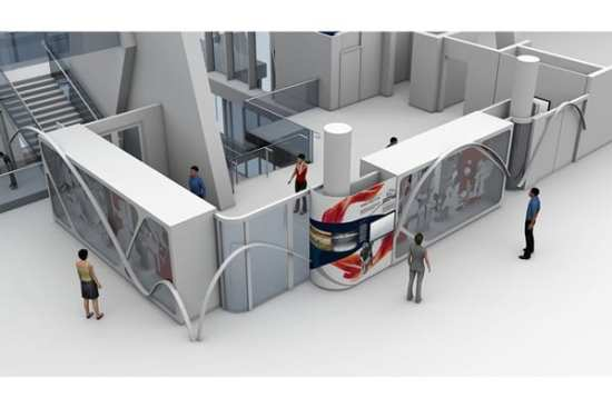 CAD drawing of the $5.7 million Richmond Olympic Experience to be launched in 2015.