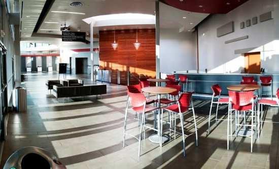 Photo credit: Cincinnati USA CVB The South lobby of SCC.