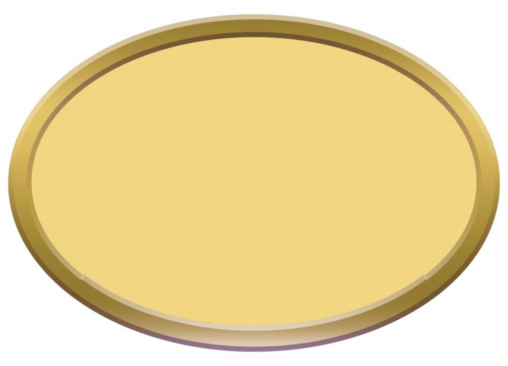 Targhetta Royal Plate modello S