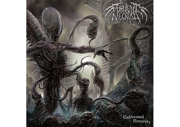 "Purulent Necrosis: ""Cadaverized Humanity"" – Brutal death metal on Comatose Music"