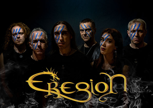 "Rockshots Records Signs power metal band EREGION for the new album ""AGE OF HEROES"" Out December 13th"