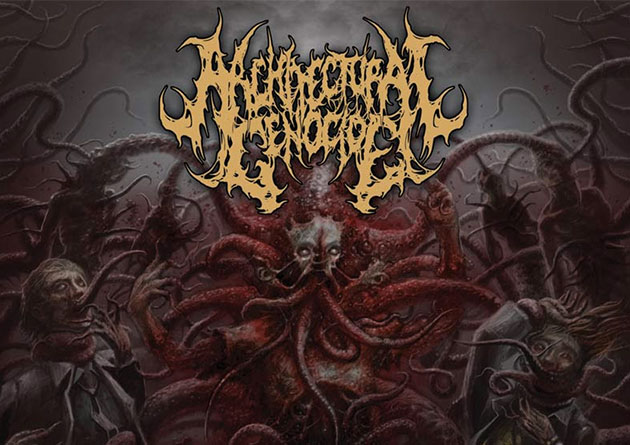 "ARCHITECTURAL GENOCIDE: ""CORDYCEPTIC ANTHROPOMORPH"" – Brutal Texan Death Metal on Comatose Music"